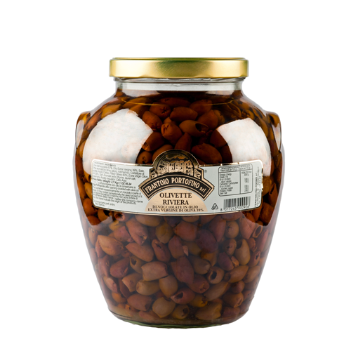 OLIVETTE RIVIERA - Olive Denocciolate in Olio EVO - 2,7 kg